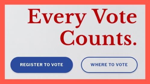Registrar of Voters wants you to know every vote counts